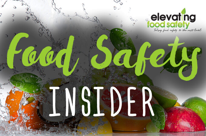Food Safety Insider Email Campaign