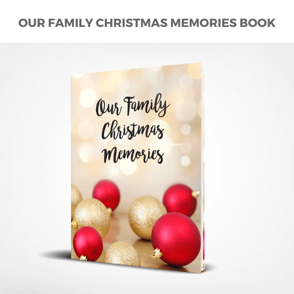 Our Family Christmas Memories Book