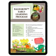 Balegrow Early Learning Program