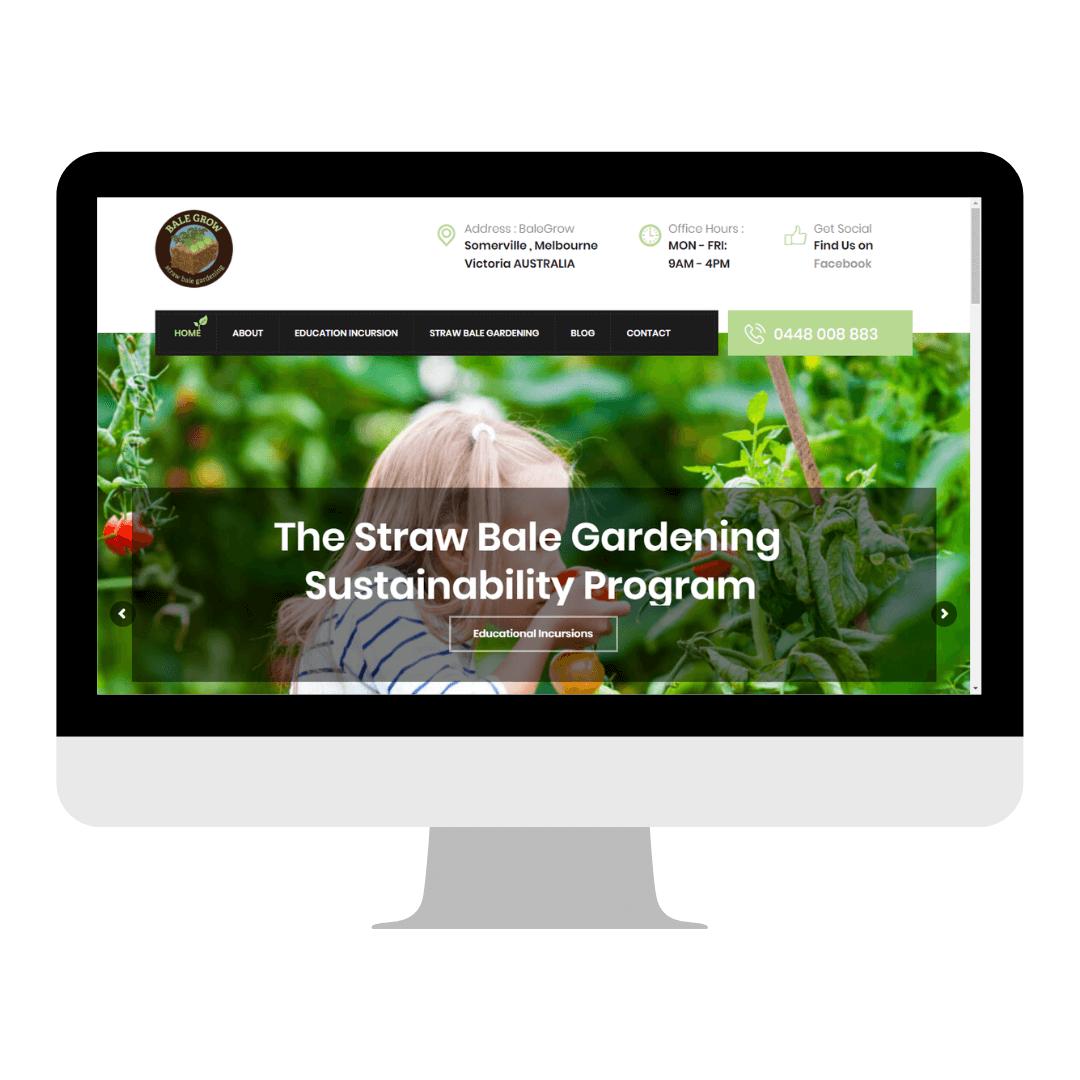 Balegrow Website