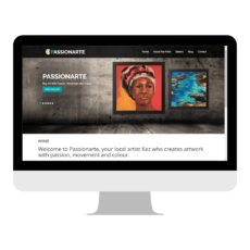 Passionarte Website